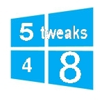 5 awesome windows 8 tweaks