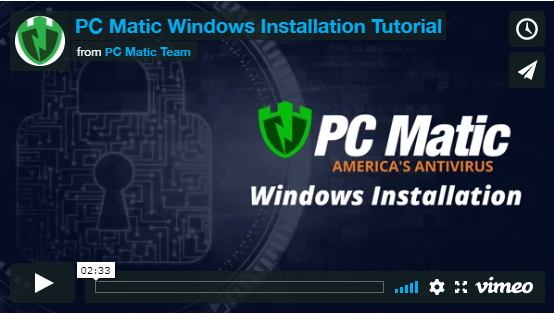 How do i submit a request for assistance for my pc matic software
