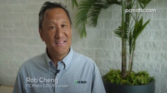 Rob Cheng PC Matic's CEO