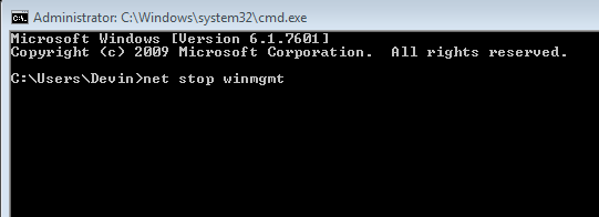 How To: Repair and Reregister the WMI
