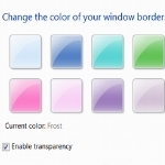 change windows 7 border color