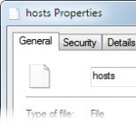 how to reset your pc host file