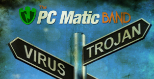 PC Matic helps prevent malware and virus infections. The PC Matic Band asks you to think before you click.