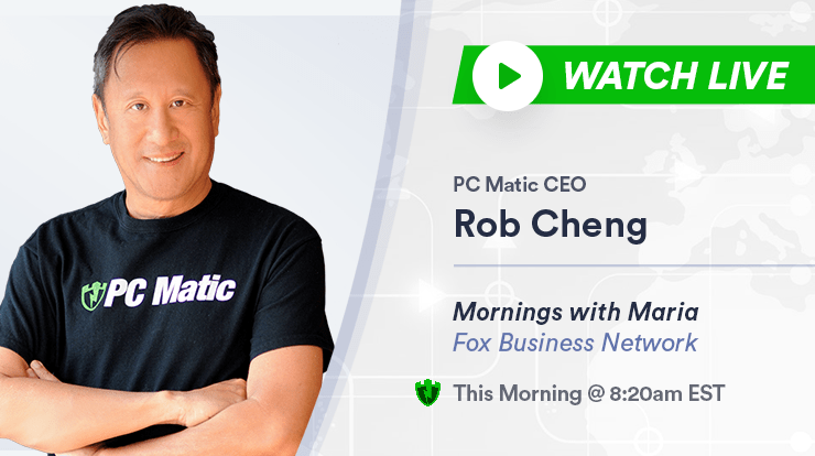 Rob Cheng - Founder CEO PC Matic - Cybersecurity Expert